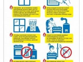 Будьте внимательны при пользовании газом.
